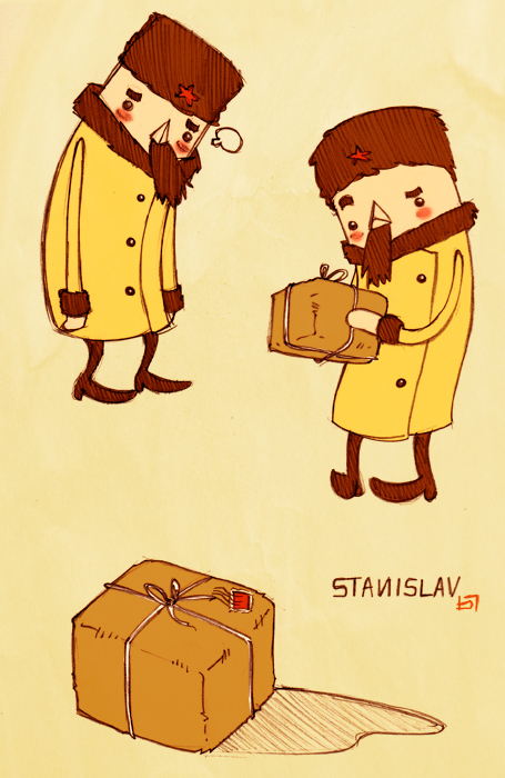 Stanislav's Parcel by boum