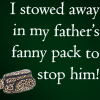 My Father's Fannypack by twilightluvr