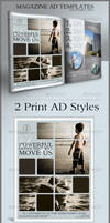 Print Ad Templates and Layouts