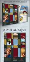 Print Ad Template Layouts 2