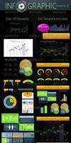Infographic Template v4 by CursiveQ-Designs