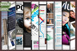 10 Full Magazine Layout Templates for InDesign