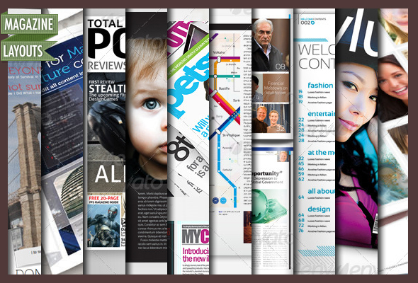 adobe indesign magazine template download free - 10 full magazine layout templates for indesign by cursiveq