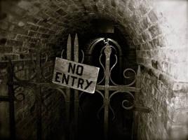 Castello di Amorosa - No Entry by CursiveQ-Designs