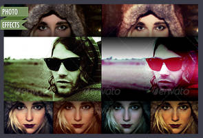 300+ Photoshop Photo Effects Templates by CursiveQ-Designs