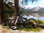 Stanley Lake, Idaho - Mountain Bikes