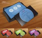 Free Business Card Template - Cirque