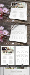 Wedding Photographer Pricing Guide PSD Template v3 by CursiveQ-Designs