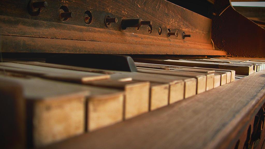 Lost Dutchman's Piano by CursiveQ-Designs