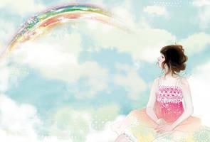 milk tea  rainbow by tuyetdinhsinhvat