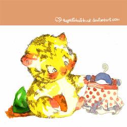 tuti 3 cute tiger by tdsv by tuyetdinhsinhvat