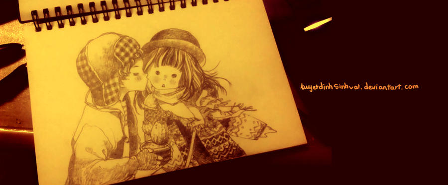 sketch by tuyetdinhsinhvat