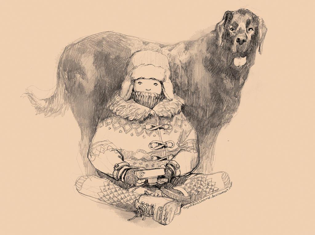 Dog by tuyetdinhsinhvat