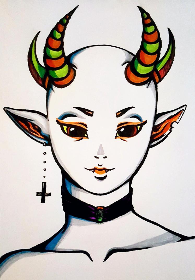 Little demon by Ulfbritt