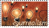 Surrealism stamp by Perzikhoofd