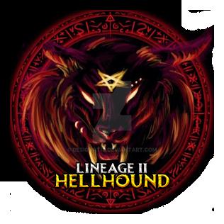 Lineage 2 HellHound Logotype By Designatix