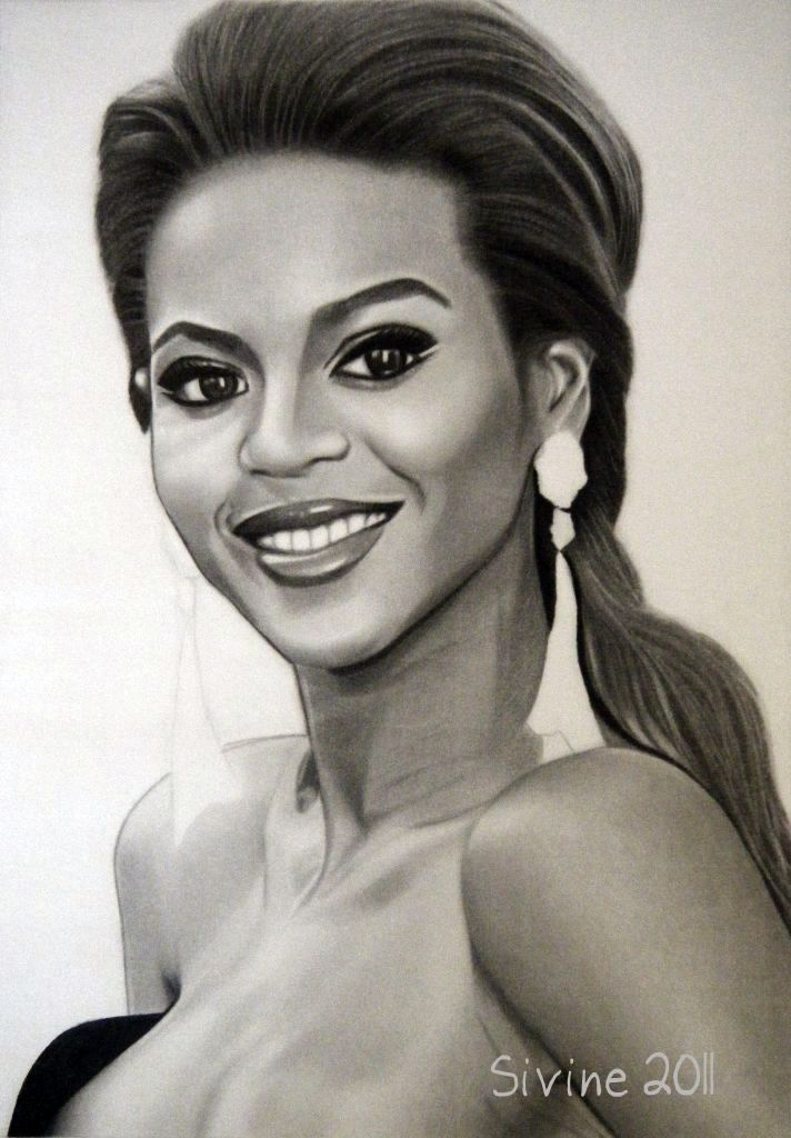 How To Draw Beyonc page 2