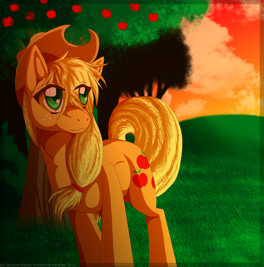 Harmony in the Sunset by InuHoshi-to-DarkPen