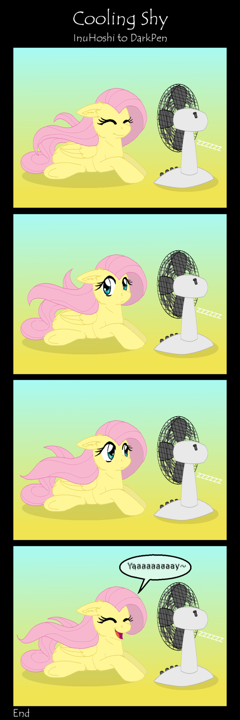 Comic - Cooling Shy by InuHoshi-to-DarkPen