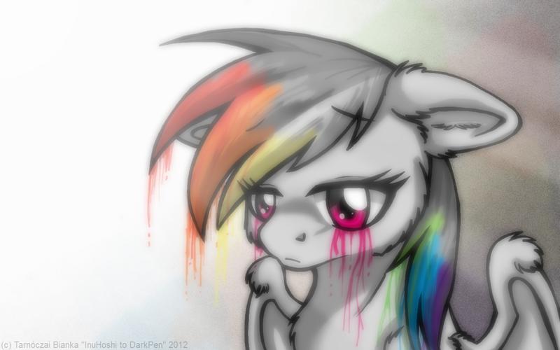 Colorless Rainbow by InuHoshi-to-DarkPen