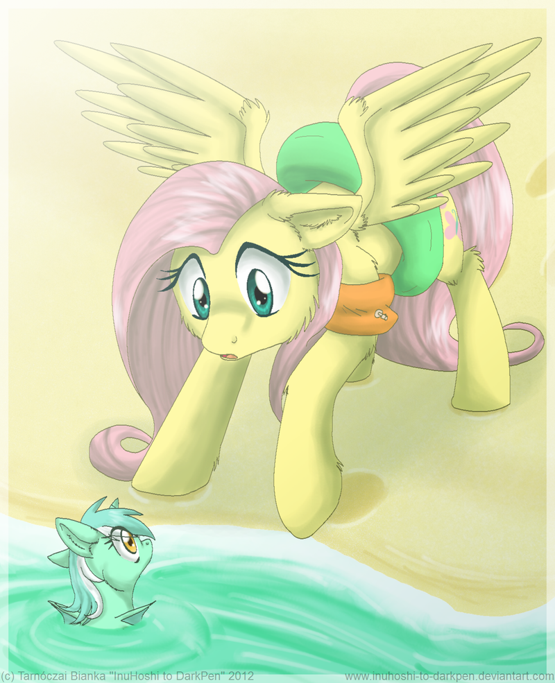 Beach Suprise by InuHoshi-to-DarkPen