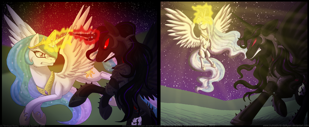 Request - Fight of the Night - V01 and 02 by InuHoshi-to-DarkPen