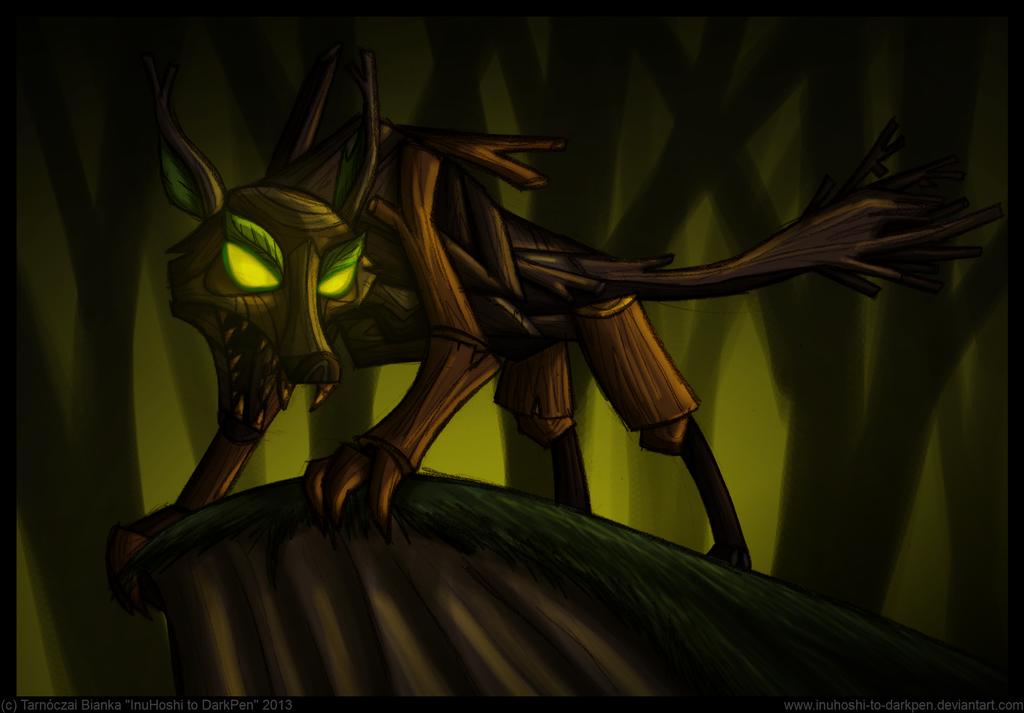 Big Bad Wolf by InuHoshi-to-DarkPen