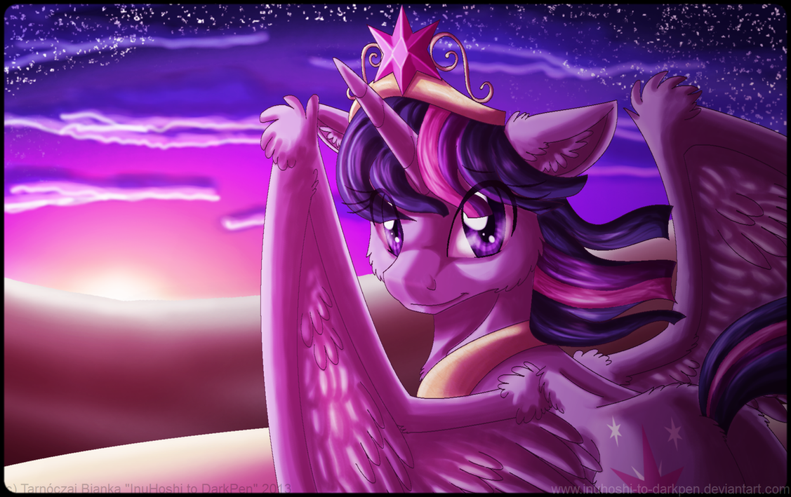 A New Twilight Shines on the Horizon by InuHoshi-to-DarkPen