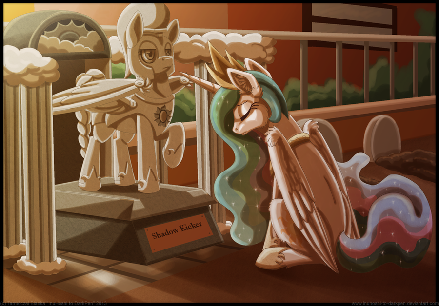 Meeting an Old Friend for Advice by InuHoshi-to-DarkPen