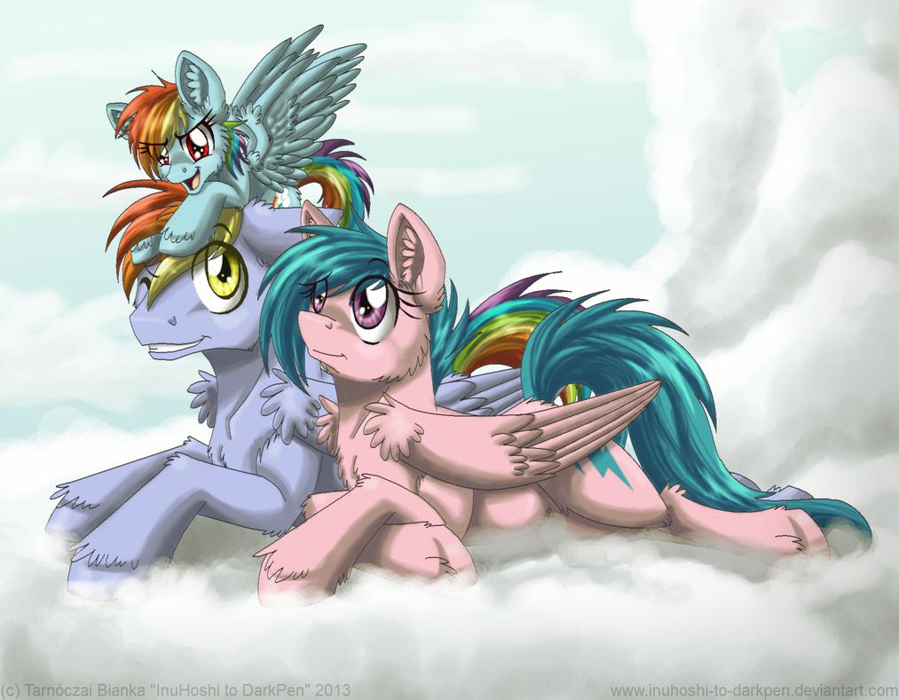 Rainbow Family by InuHoshi-to-DarkPen