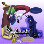 Chess Party with Discord and Luna