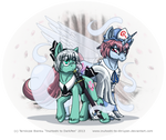 TouHou Ponies - One and a Half Ghosts