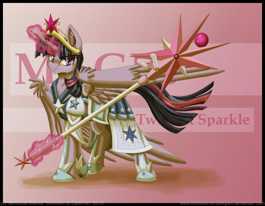 Battle Armored Twilight Sparkle by InuHoshi-to-DarkPen