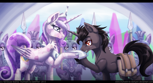 When That Unicorn Came to the Crystal Empire