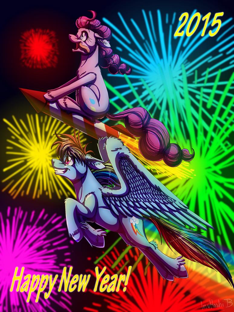 Happy New Year - 2015 by InuHoshi-to-DarkPen