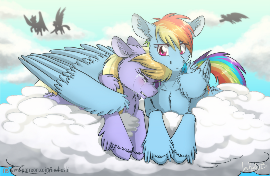 I Have Your Back by InuHoshi-to-DarkPen