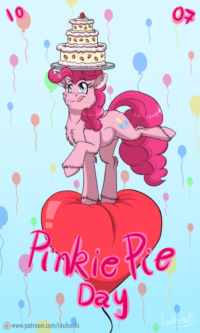 Pinkie Pie Day - 2016 by InuHoshi-to-DarkPen