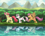 Little Ponies in a Big World