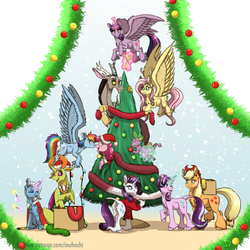 Merry Christmas - 2017 by InuHoshi-to-DarkPen