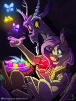 The One Who Loves the Magic of Chaos by InuHoshi-to-DarkPen