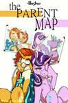 The Parent Map (The Parent Trap poster parody)