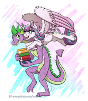 <b>MLP:YL - Hey, Uncle Spike!</b><br><i>InuHoshi-to-DarkPen</i>