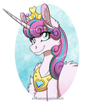 MLP:YL - Princess Flurry Heart by InuHoshi-to-DarkPen