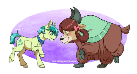 Yak of My Eye by InuHoshi-to-DarkPen