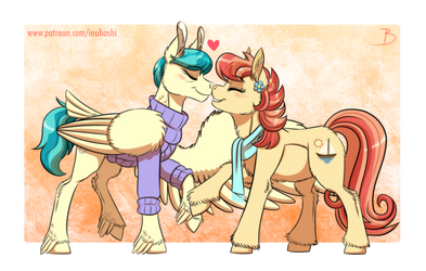 Scoot's Aunts by InuHoshi-to-DarkPen