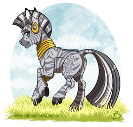 Zecora with Complex Stripes