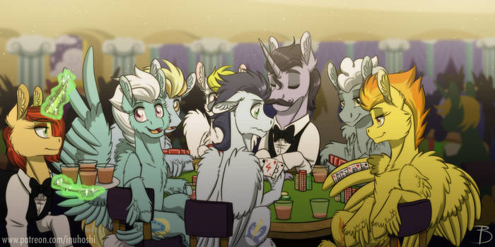 Wonderbolts' Off Time in Las Pegasus