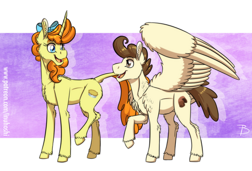 MLP:YL - Older Pumpkin and Pound Cake