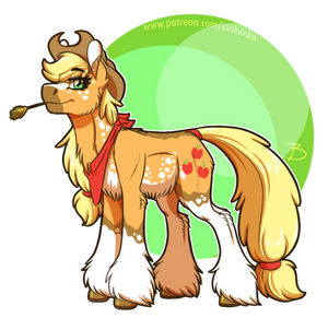 Pony Redesign - Applejack