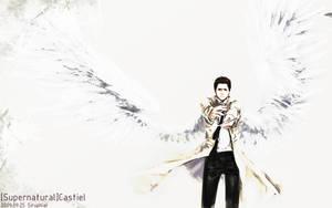 SPN-the warrior Castiel by siruphial